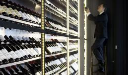 Specialdesignet vinkølingsanlæg til vinrummene på d'Angleterre