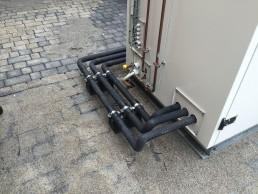 Jyske Bank Silkeborg CO2 rør til maskine