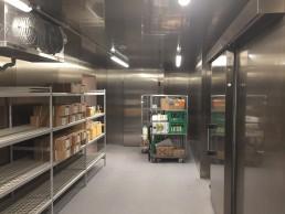 Jyske Bank Silkeborg Rustfri kølerum