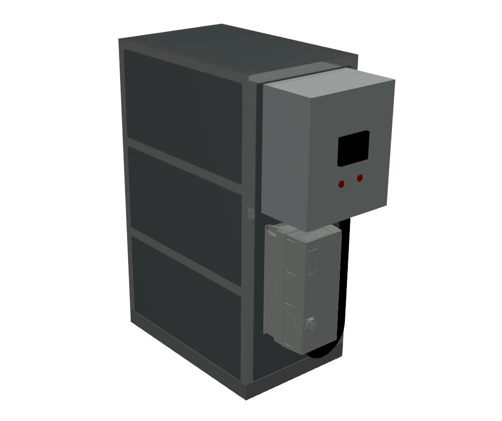 Vandkølet propan varmepumpe WWHC1P